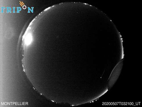 Full size image detection Montpellier (FRLR01) 2020-05-07 03:21:00 Universal Time